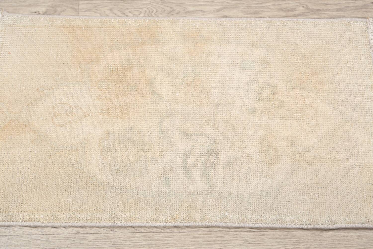 Muted Distressed Oushak Oriental Area Rug 2x3 image 8