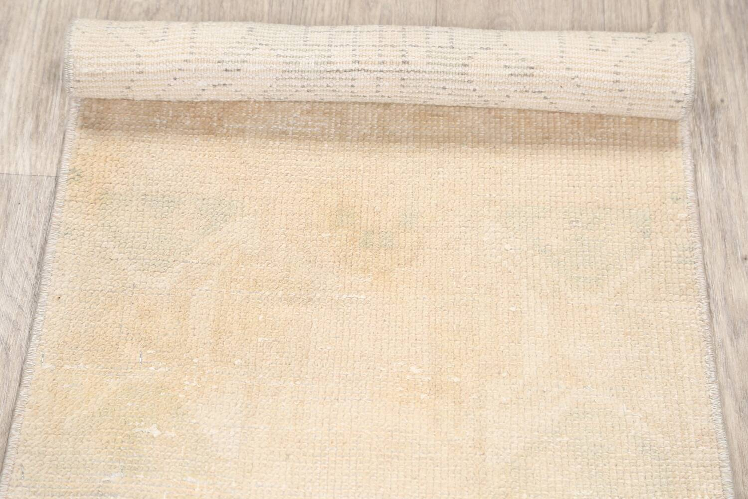 Muted Distressed Oushak Oriental Area Rug 2x3 image 13