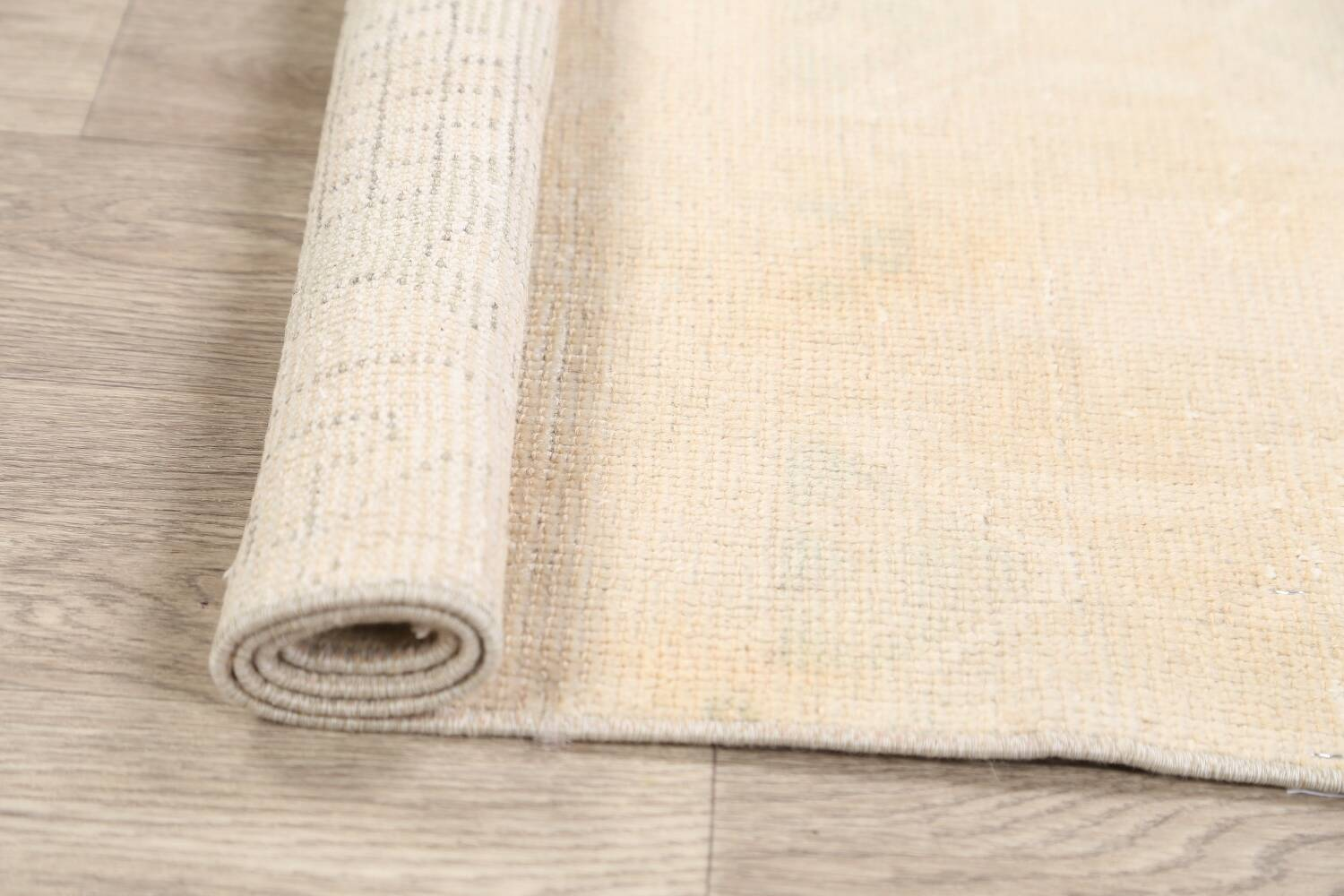 Muted Distressed Oushak Oriental Area Rug 2x3 image 14