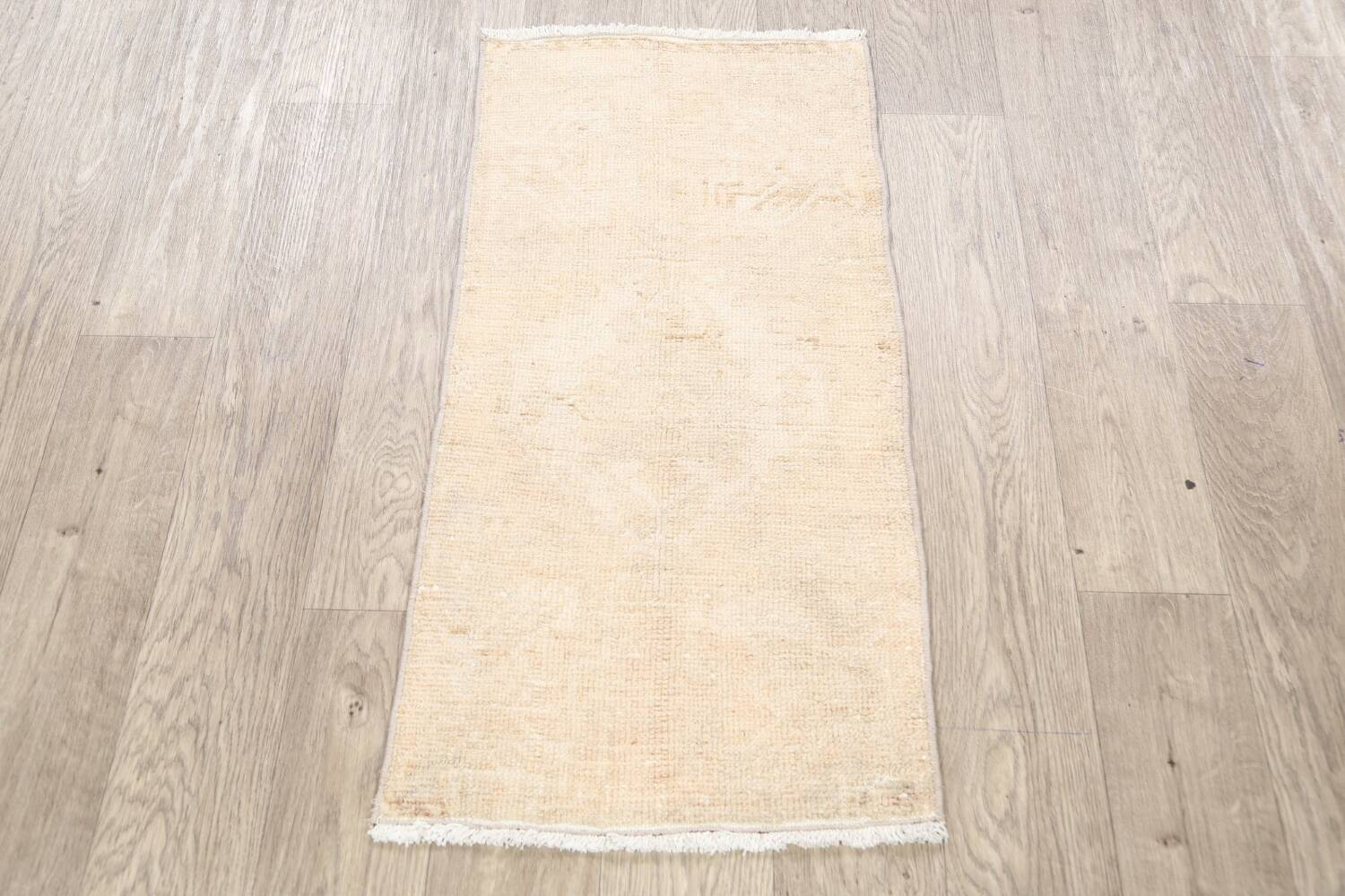 Muted Distressed Oushak Oriental Area Rug 2x3 image 2