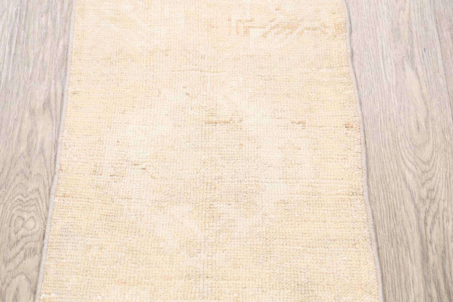 Muted Distressed Oushak Oriental Area Rug 2x3 image 3