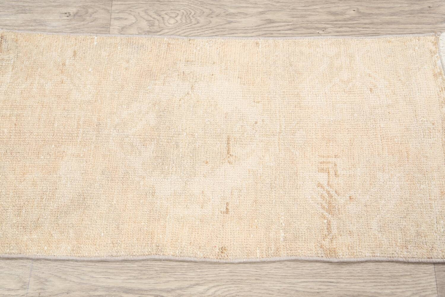 Muted Distressed Oushak Oriental Area Rug 2x3 image 11