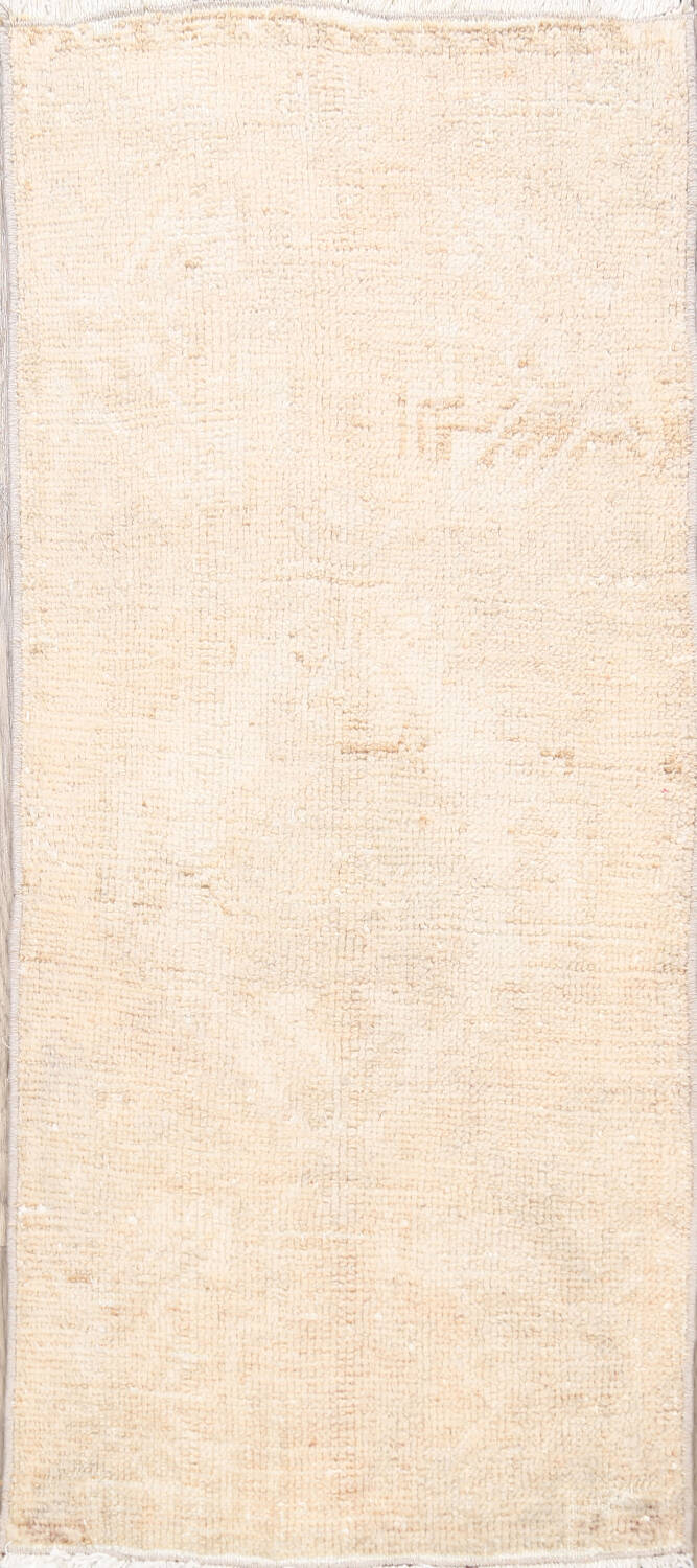 Muted Distressed Oushak Oriental Area Rug 2x3 image 1