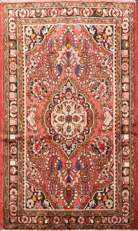 Floral Lilian Persian Area Rug 4x5