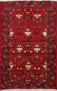 Geometric Malayer Persian Area Rug 3x5