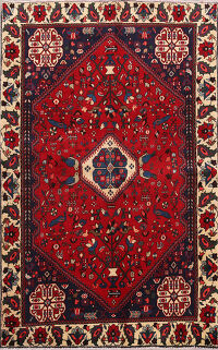 Tribal Abadeh Persian Area Rug 3x5