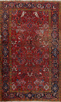 Antique Heriz Persian Area Rug 7x10
