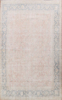 Antique Muted Kerman Persian Area Rug 10x13