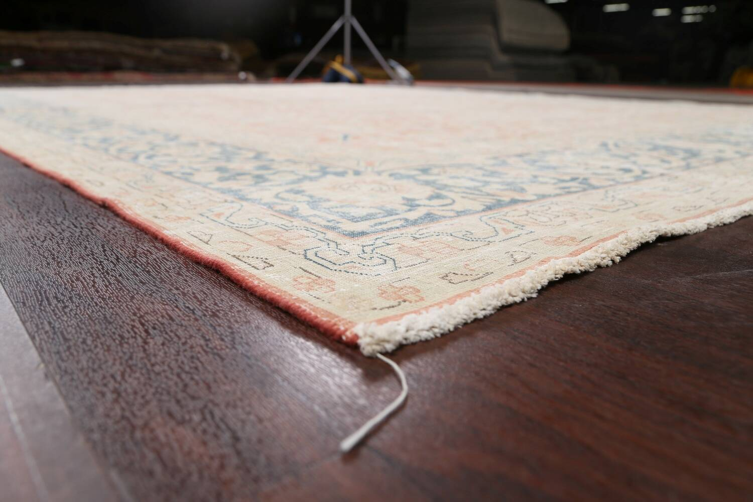 Antique Muted Kerman Persian Area Rug 10x13 image 6