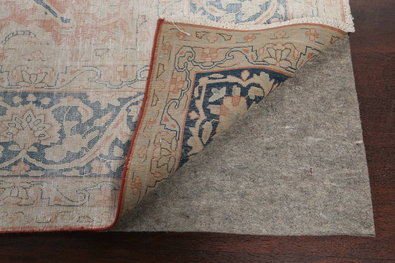 Antique Muted Kerman Persian Area Rug 10x13 image 7