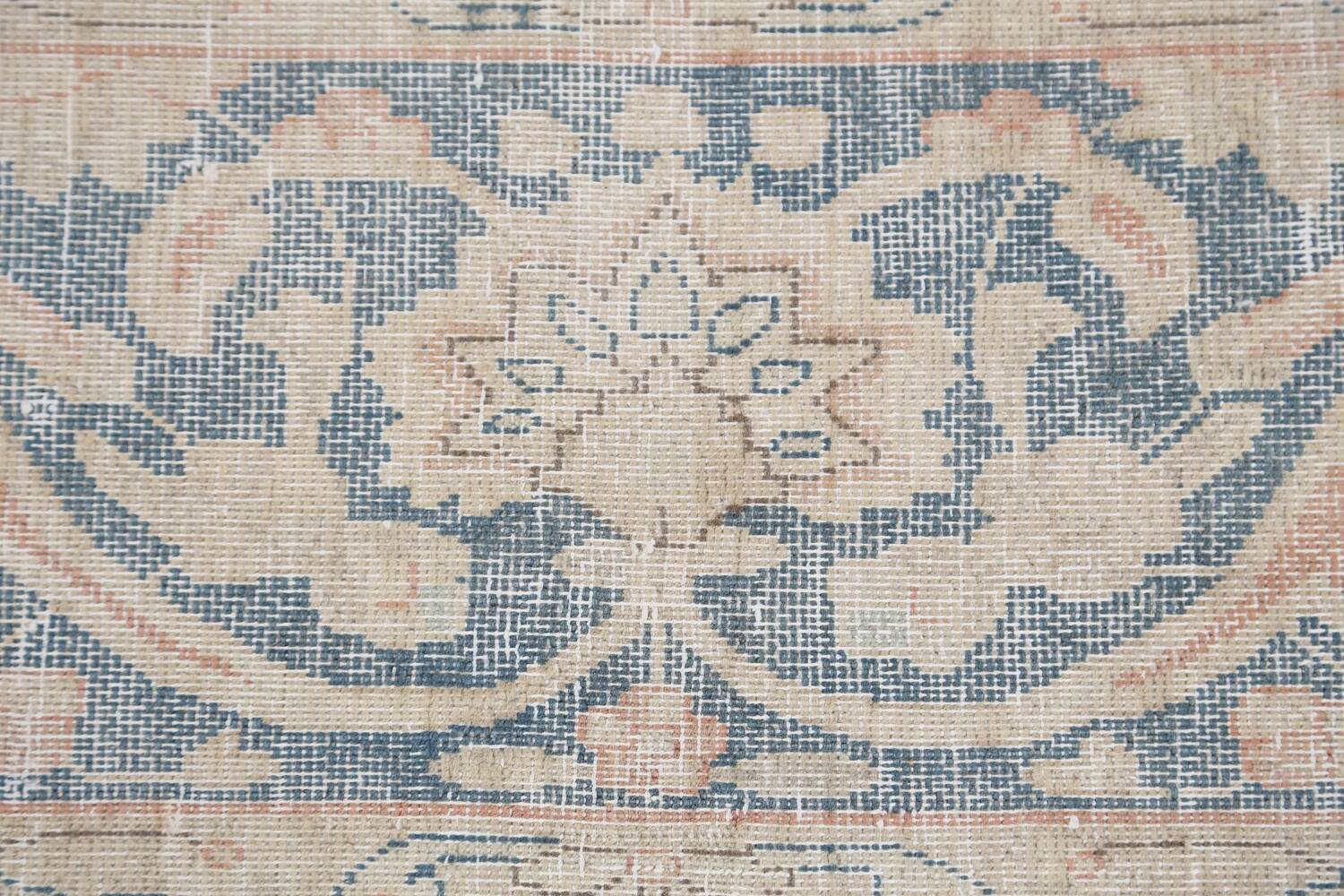 Antique Muted Kerman Persian Area Rug 10x13 image 9