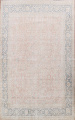 Antique Muted Kerman Persian Area Rug 10x13 image 1