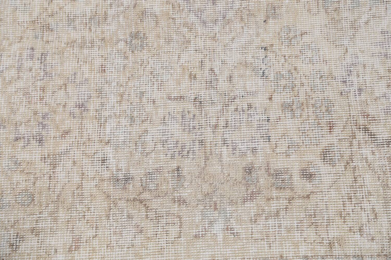 Muted Distressed Tabriz Persian Area Rug 8x11 image 10