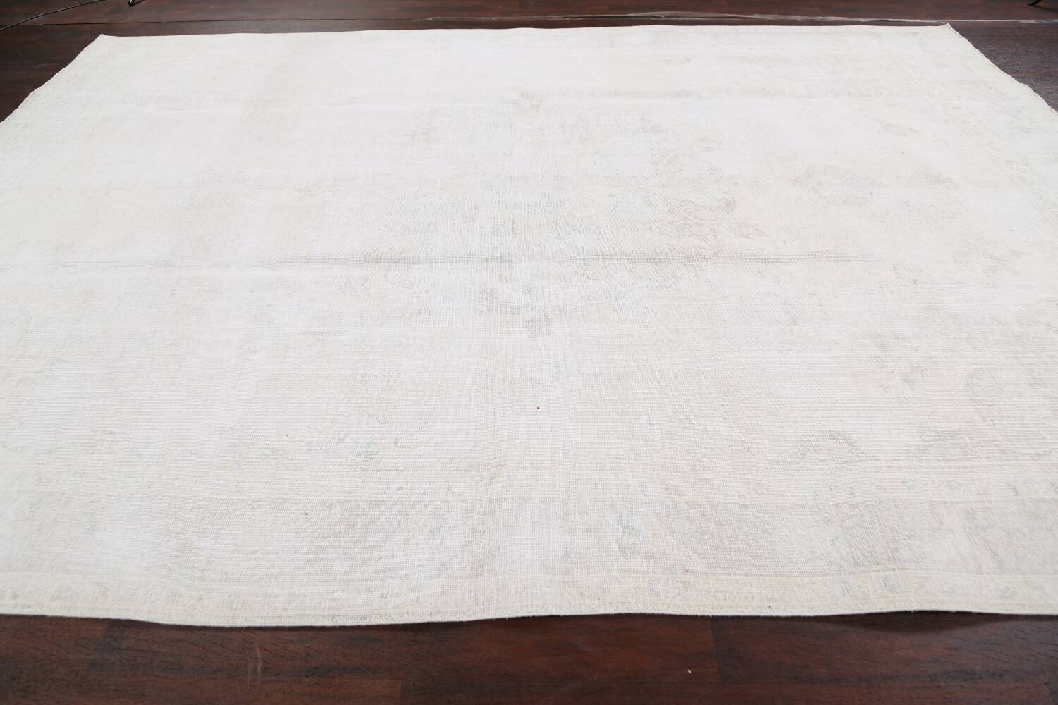 Antique Muted Tabriz Persian Area Rug 9x13 image 13