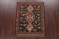 Antique Pre-1900 Tribal Bakhtiari Persian Area Rug 4x5 image 2