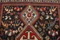 Antique Pre-1900 Tribal Bakhtiari Persian Area Rug 4x5 image 11