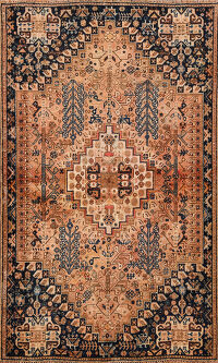 Geometric Shiraz Persian Area Rug 4x6