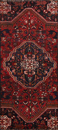 Shiraz Persian Runner Rug 3x8