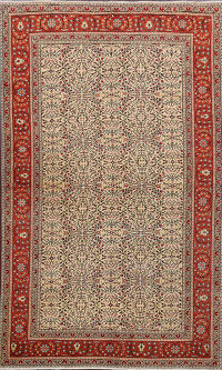 100% Vegetable Dye Anatolian Turkish Area Rug 5x7