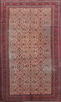Antique Vegetable Dye Anatolian Turkish Area Rug 6x9