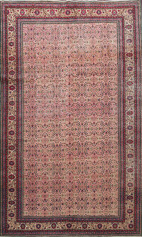Antique Vegetable Dye Anatolian Turkish Area Rug 7x9