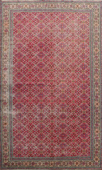 Antique Anatolian Oriental Area Rug 7x11