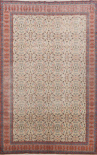 Antique 100% Vegetable Dye Anatolian Turkish Area Rug 7x9