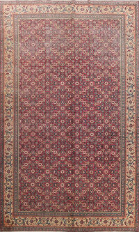 Antique Anatolian Oriental Area Rug 6x10
