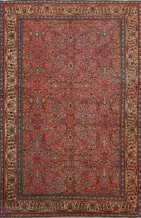 100% Vegetable Dye Anatolian Turkish Area Rug 4x7
