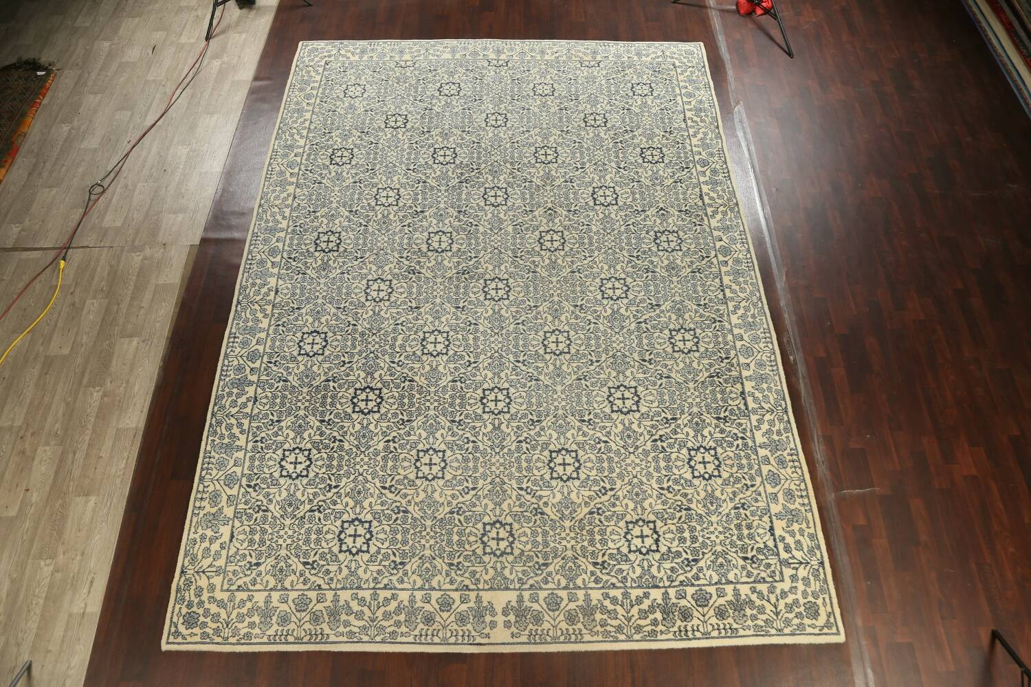 Large All-Over Oushak Oriental Area Rug 11x15 image 2