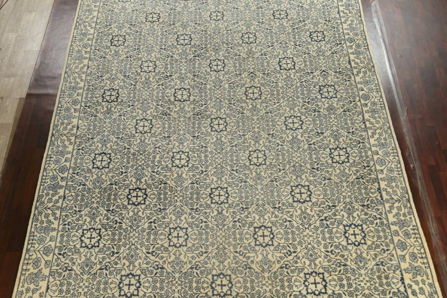 Large All-Over Oushak Oriental Area Rug 11x15 image 3