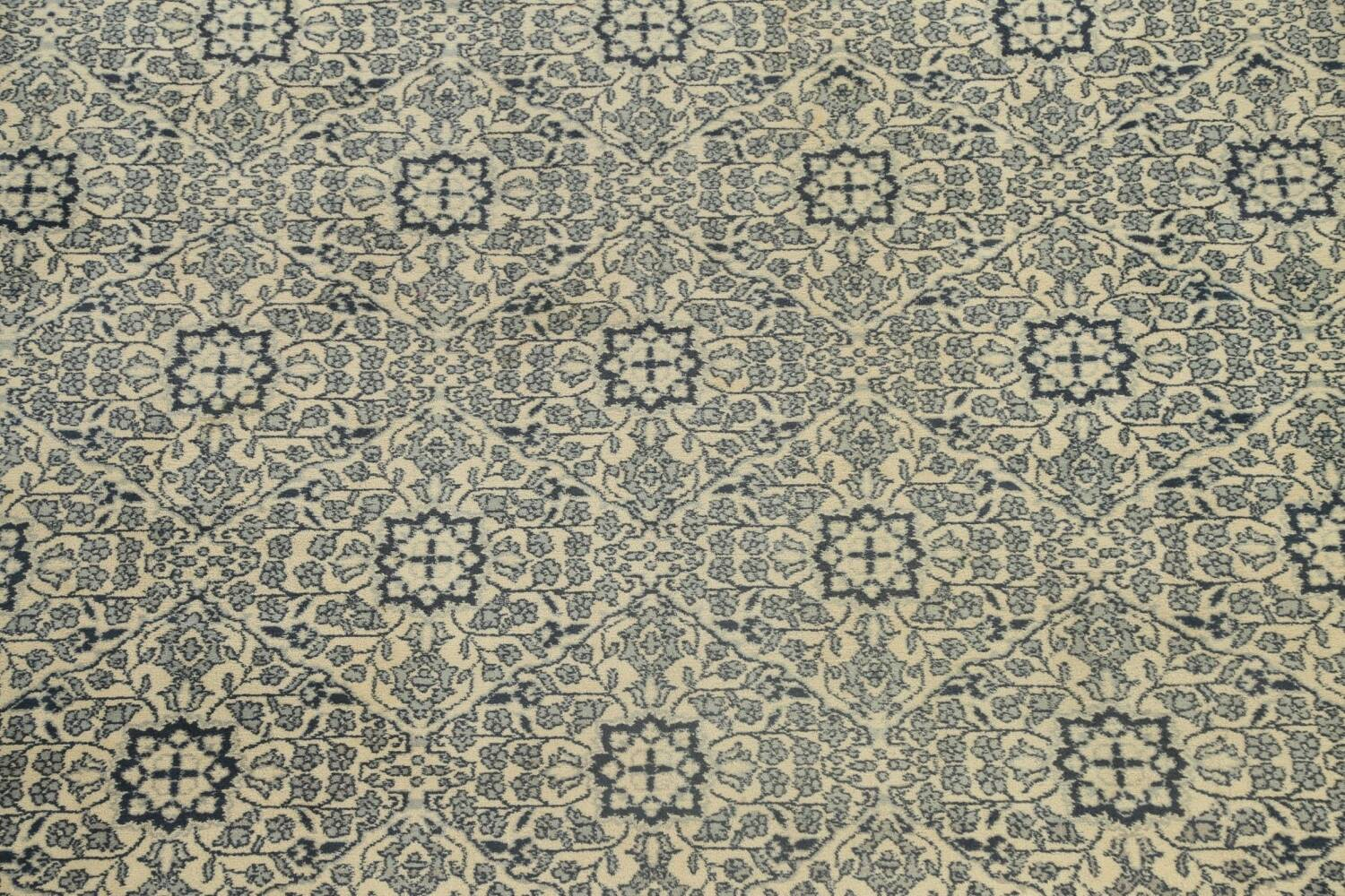 Large All-Over Oushak Oriental Area Rug 11x15 image 4