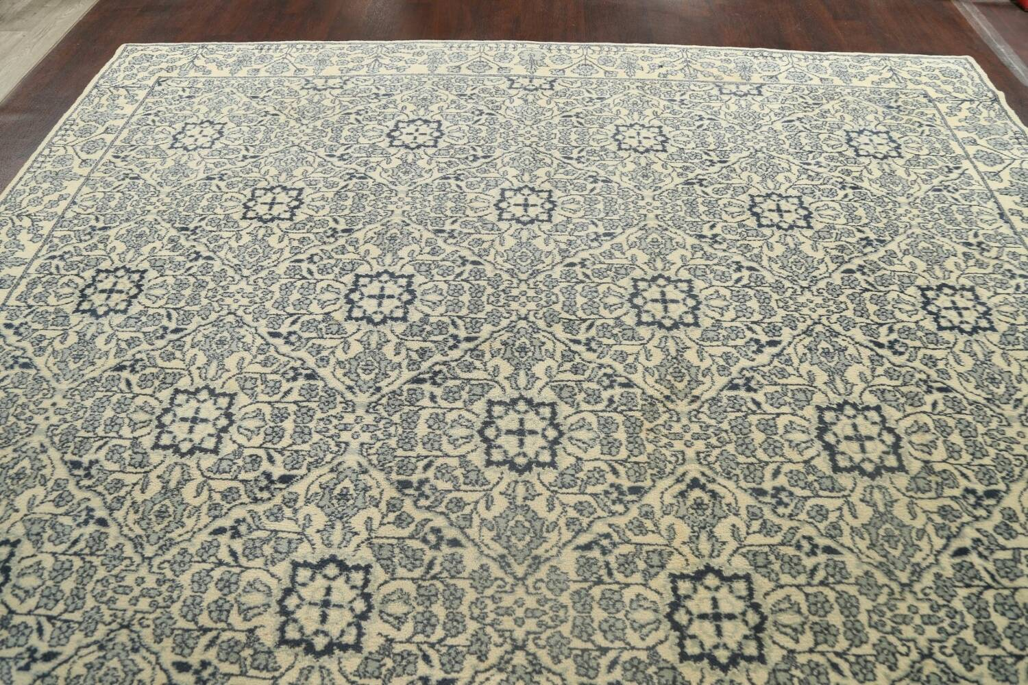 Large All-Over Oushak Oriental Area Rug 11x15 image 13