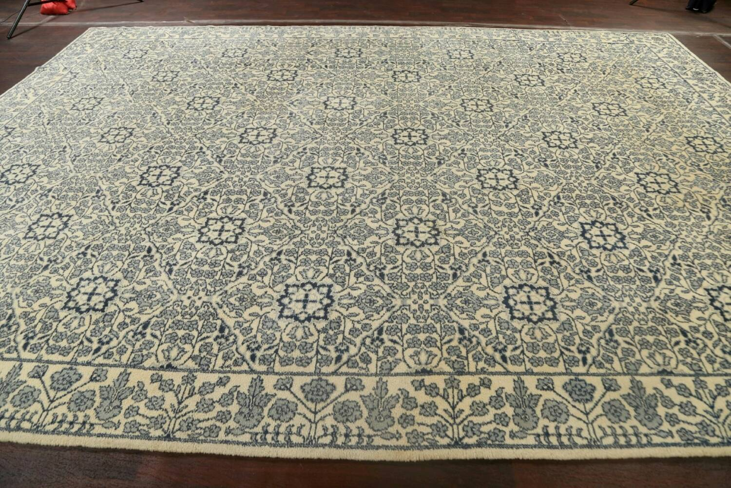 Large All-Over Oushak Oriental Area Rug 11x15 image 16