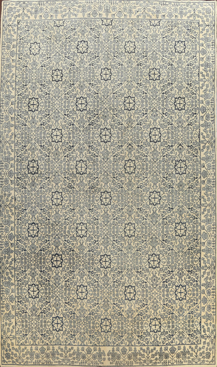 Large All-Over Oushak Oriental Area Rug 11x15 image 1