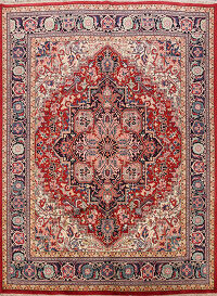 Vegetable Dye Heriz Serapi Persian Area Rug 8x10