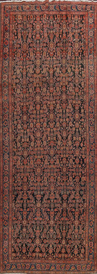 Pre-1900 Antique Malayer Persian Runner Rug 6x16
