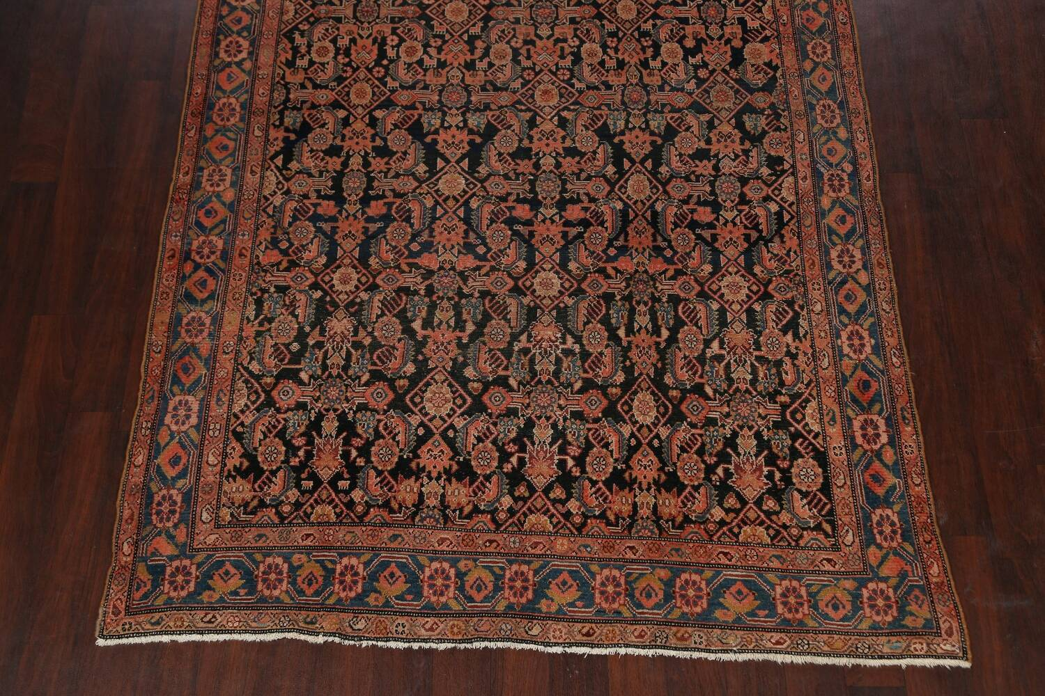 Pre-1900 Antique Malayer Persian Runner Rug 6x16 image 8