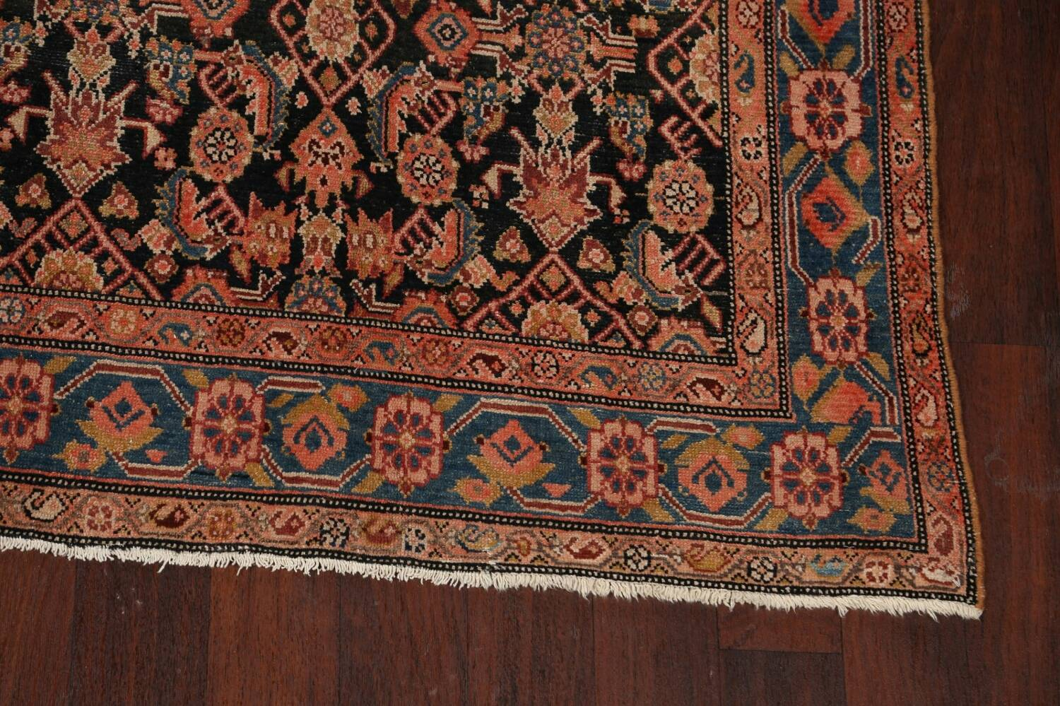 Pre-1900 Antique Malayer Persian Runner Rug 6x16 image 5