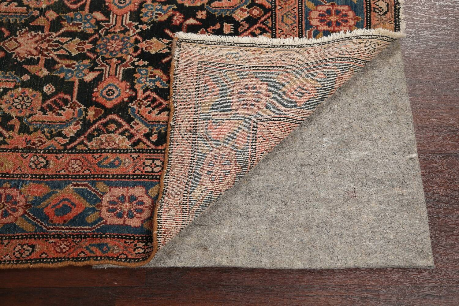 Pre-1900 Antique Malayer Persian Runner Rug 6x16 image 7