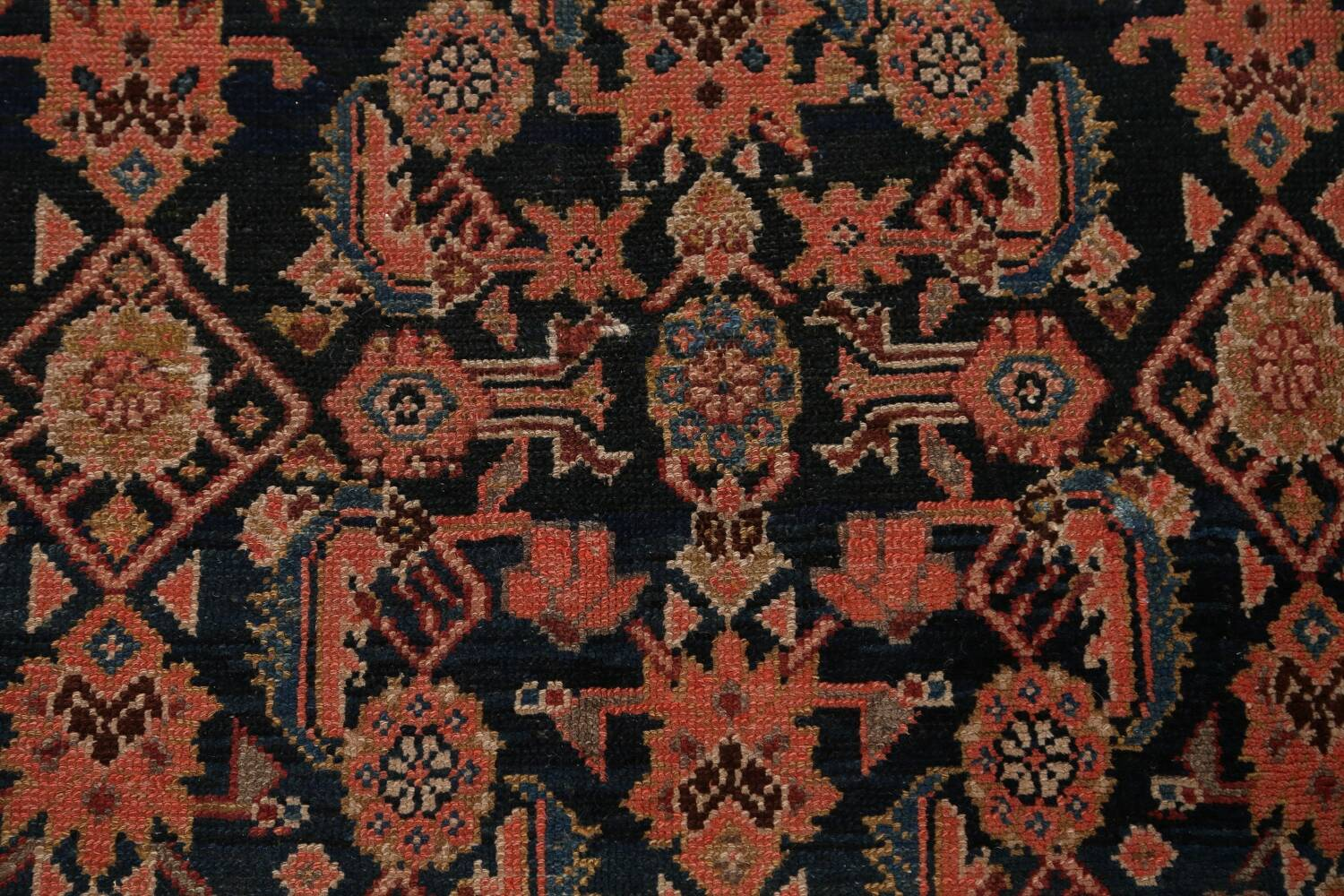 Pre-1900 Antique Malayer Persian Runner Rug 6x16 image 9