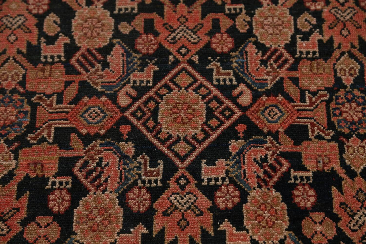 Pre-1900 Antique Malayer Persian Runner Rug 6x16 image 10