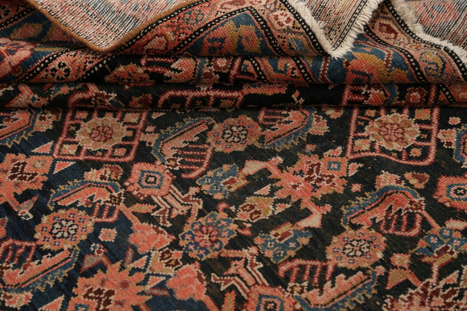 Pre-1900 Antique Malayer Persian Runner Rug 6x16 image 15