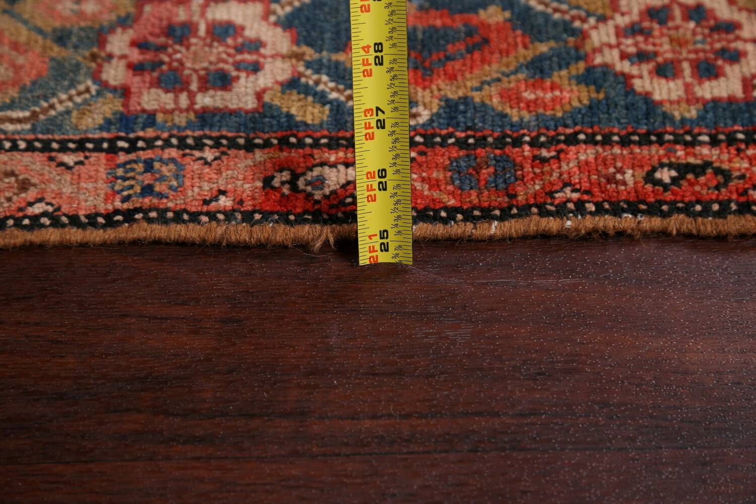 Pre-1900 Antique Malayer Persian Runner Rug 6x16 image 18