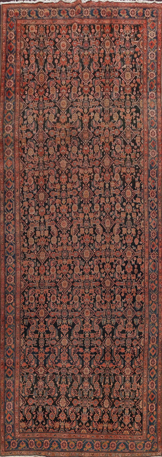 Pre-1900 Antique Malayer Persian Runner Rug 6x16 image 1