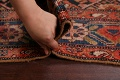 Pre-1900 Antique Malayer Persian Runner Rug 6x16 image 17