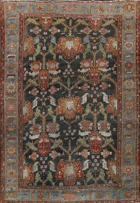 Antique Sultanabad Ziegler Persian Area Rug 10x13