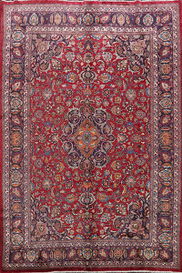 Floral Mashad Persian Area Rug 8x11