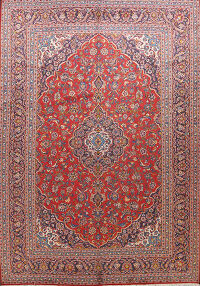 Traditional Kashan Persian Area Rug 10x12