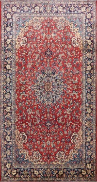 Floral Najafabad Persian Area Rug 8x14